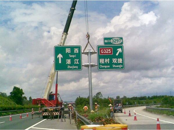 河北高速公路标志杆