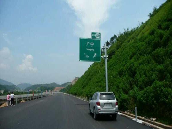 河北道路标志杆